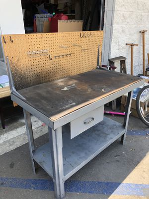 Small heavy duty workbench for Sale in Sierra Madre, CA