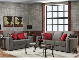 Furniture Sofa Loveseat fabric $39 down payment finance available for Sale in Richardson, TX
