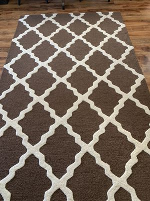 100% wool hand made rug !!! 5 x 8 for Sale in Vancouver, WA