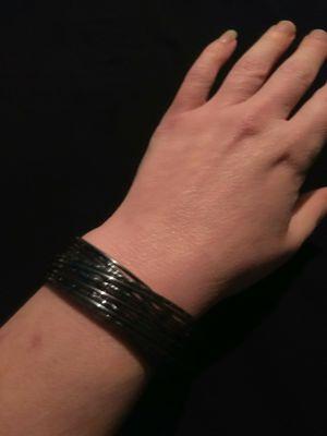 Hematite Colored Adjustable Wrap Around Bracelet for Sale in Gresham, OR