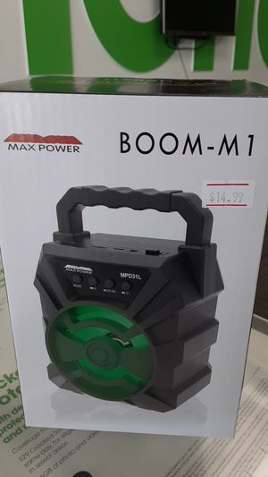 Mini boom speaker for Sale in San Angelo, TX