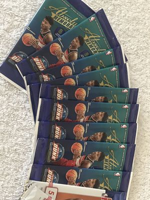 NBA cards - absolute memorabilia and NBA hoops for Sale in Springfield, TN