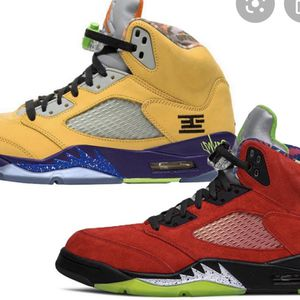 Air Jordan Retro 5 What The Size 10.5 for Sale in Los Angeles, CA