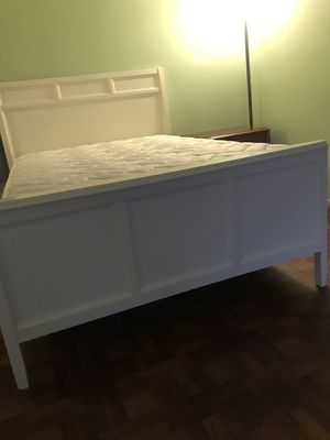 full size mattress and box spring and headboard. Almost new free of pets and smokers for Sale in Port Richey, FL