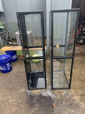 Two 55 gallon fish tank with no leaks for Sale in Charlottesville, VA