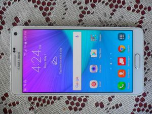 New Samsung Galaxy Note 4 Verizon/T-Mobile/MetroPCS/AT&T/Cricket Phone Unlocked New Without Box Clear ESN for Sale in Glendale, AZ