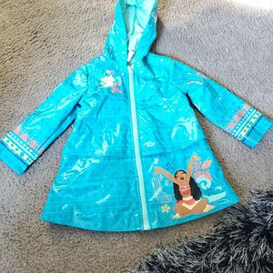 Moana Girl's RAINCOAT DISNEY SIZE 3 BLUE for Sale in Lakewood, CA