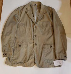Paul Frederick Khaki Blazer Jacket for Sale in Alpharetta, GA