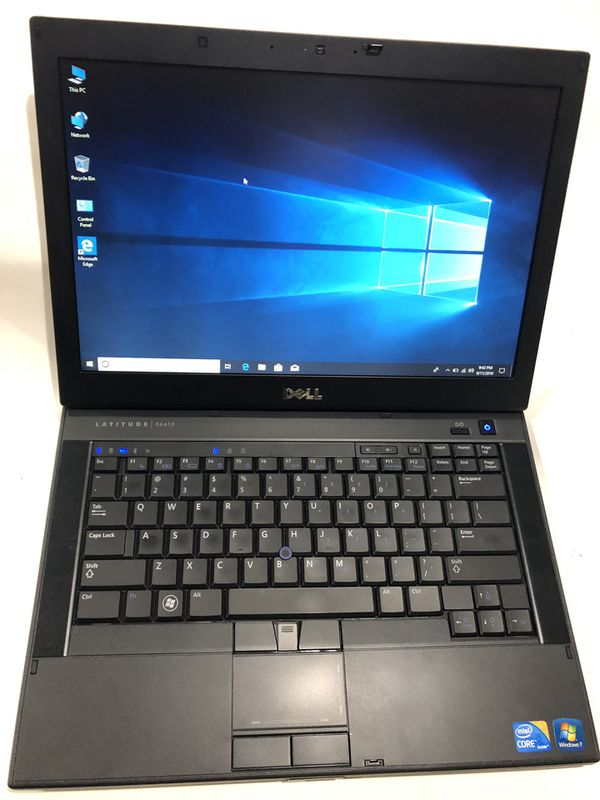 Dell E6410 Intel Core i5, 2.40 GHz, 4 GB RAM, 300 GB Hard Drive, Wireless Wife, Webcam, DVDRW, Display Port, Windows 10, Office 2019