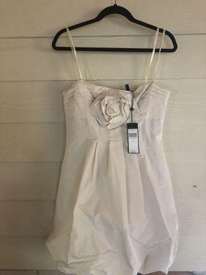 BCBG MaxAzria Cream/Tan Dress BRAND NEW Size: 10 for Sale in Burbank, IL
