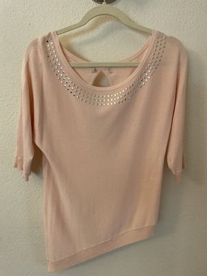 Baby pink shirt women's for Sale in Glendale, CA