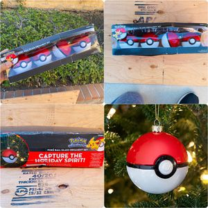 4 Pokemon poke ball christmas tree Pokemon Cards for Sale in Los Angeles, CA