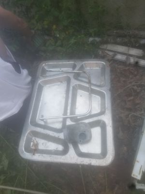 Stainless Steel campers plates for Sale in Byron, GA
