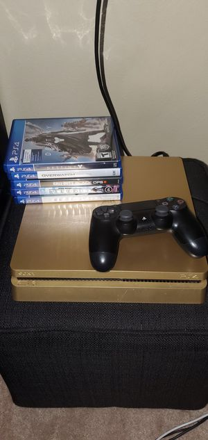 Gold edition 1TB PS4 for Sale in Apopka, FL