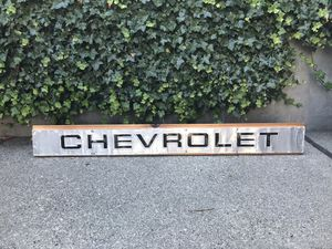 Chevrolet Automotive Sign for Sale in Seattle, WA