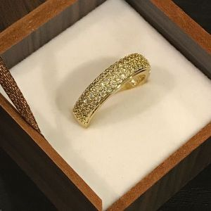 18K Gold plated Engagement Ring - Multi Diamond 💍 Fashion Jewelry for Sale in Houston, TX