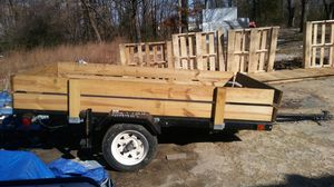 🚜 🚜 🚜🚜 2006 CHANGZHOU 4 X 8 TRAILER~~ Nice heavy duty~~ Clear title in ✋ hand for Sale in Brandywine, MD