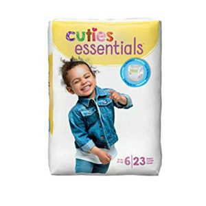 Cuties Size 6 Diapers for Sale in Lewes, DE
