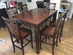 Counter height dining/kitchen table and chairs for Sale in Orange, CA
