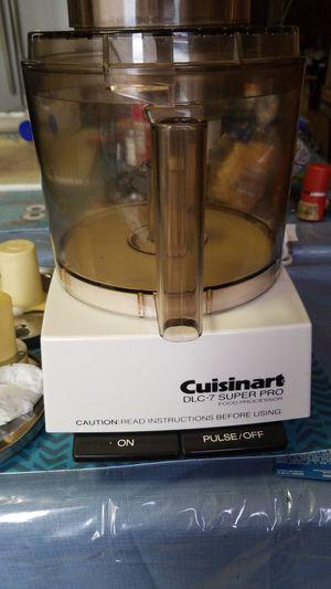 CUISINART DLC-7 SUPER PRO 6.Amp for Sale in Chicago, IL