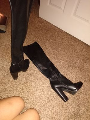 Thigh high Leather Boots! for Sale in Lewisville, TX