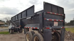 1990 32 foot End dump trailer for Sale in Houston, TX