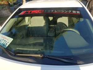 "Toyota TRD Windshield Banner Vinyl Sticker 42"" Length. $35 for Sale in Ontario, CA"