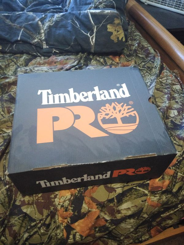 Timberland composite toe work boots