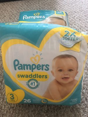 Pampers swaddles size 3 - $7 for Sale in North Miami Beach, FL
