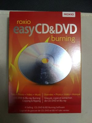 Roxio Easy CD & DVD Burning for Sale in Winterville, NC