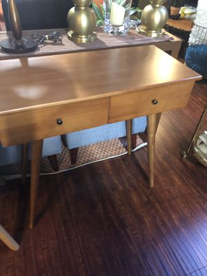 Brand new! Mid Century console table/desk for Sale in San Jose, CA