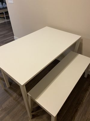 Dining table with benches for Sale in Houston, TX