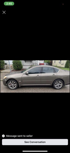 M35X PARTS,.,,, Navi, Black leather, Rims, Rear lights for Sale in Everett, MA