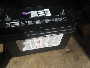New Battery (1100 CRANKING AMPS) for Sale in Spring, TX
