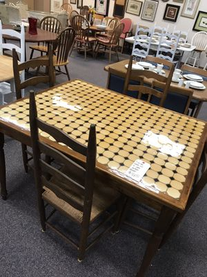 Table and 4 chairs for Sale in Piney Green, NC