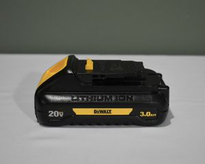 DeWALT 20-Volt MAX Lithium-Ion Compact Battery Pack 3.0Ah for Sale in Queens, NY