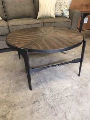 COFFEE TABLE!! BRAND NEW!! SOLID IRON.....VERY HEAVY!!! for Sale in Woodinville, WA