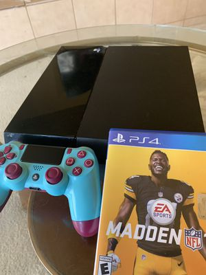 PS4 berry blue controller for Sale in Sacramento, CA
