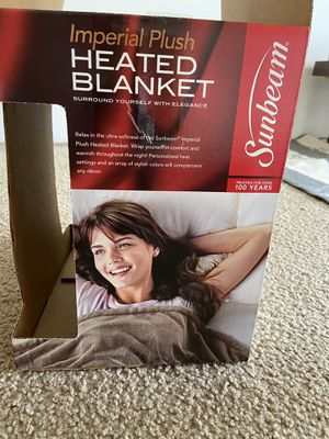 Sunbeam heated blanket and cool mist humidifier for Sale in Renton, WA