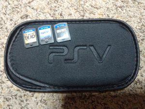 PS Vita games, and case for Sale in Pasco, WA