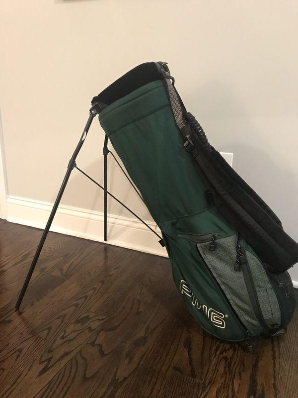 Green Ping Stand Bag