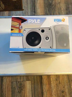 Outdoor/indoor Bluetooth & Waterproof Speakers by Pyle for Sale in Folsom, CA