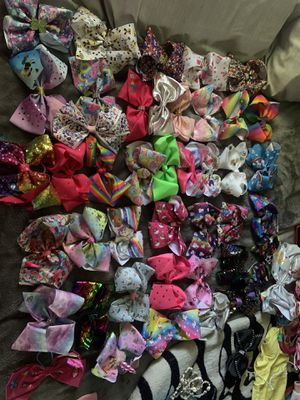 JoJo Siwa Bow collection for Sale in Banning, CA