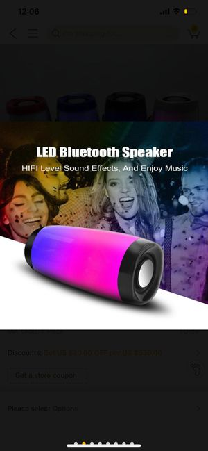 Bluetooth Speaker waterproof Wireless Bluetooth Charge 2+ Deep Subwoofer Stereo Portable Speakers with Retail Box for Sale in Kent, WA