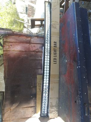 Led light bar off road new never used for Sale in Hesperia, CA