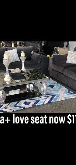 Living Room Set (sofa+love Seat) for Sale in Corona,  CA