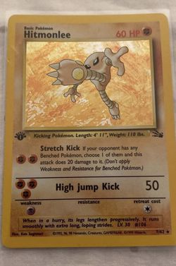 1st Edition Hitmonlee NM/Mint PSA Ready for Sale in Miami,  FL