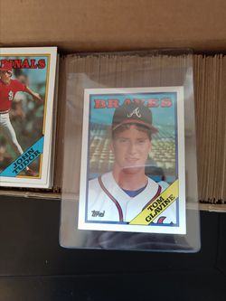 Baseball Set 1988 Topps. Tom Glavine Rookie Card included. Inducted Into The Hall Of Fame 2014. 792 Complete Card Set. $24. Original Owner. for Sale in Redmond,  WA