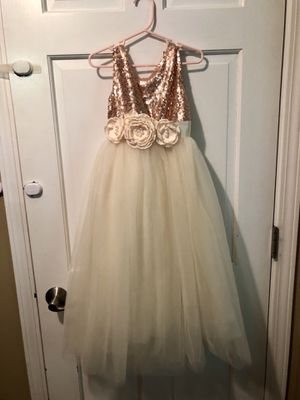 Flower girl dress- please read very detailed listing description for Sale in Naperville, IL