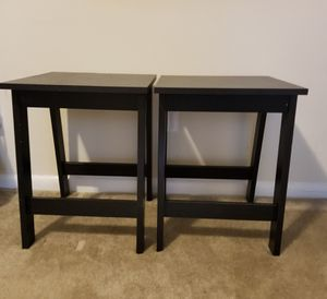 2 Small side tables 4 sell for Sale in Fort Washington, MD
